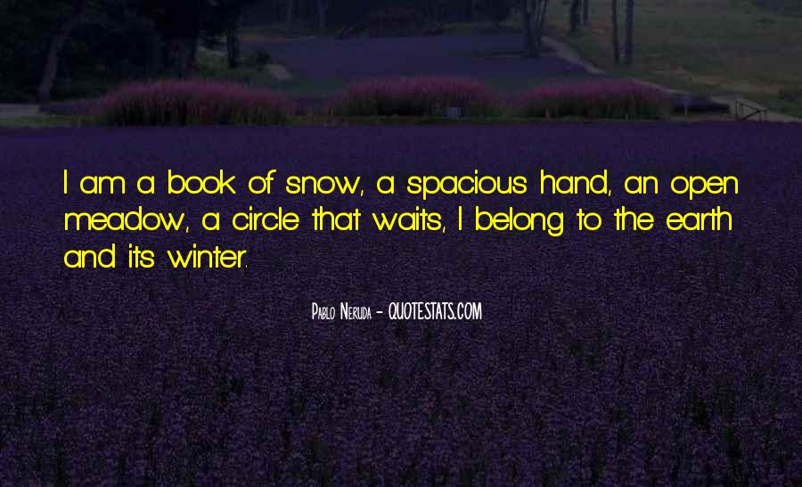 Quotes About Winter Without Snow #204680