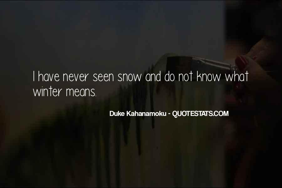Quotes About Winter Without Snow #214921