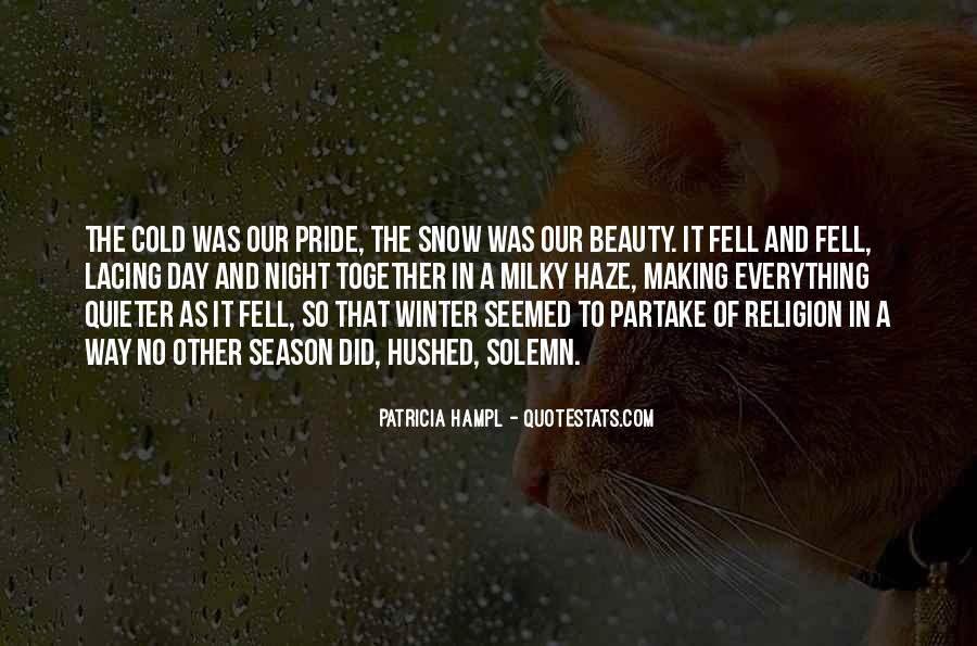Quotes About Winter Without Snow #25869