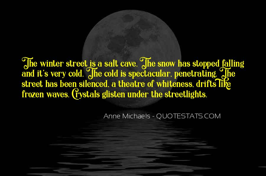 Quotes About Winter Without Snow #63254