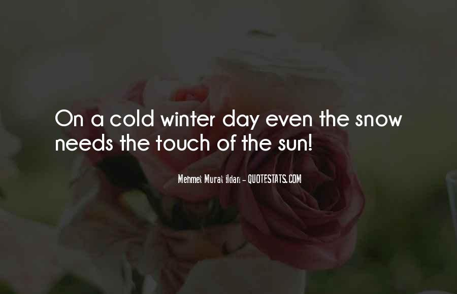 Quotes About Winter Without Snow #88513