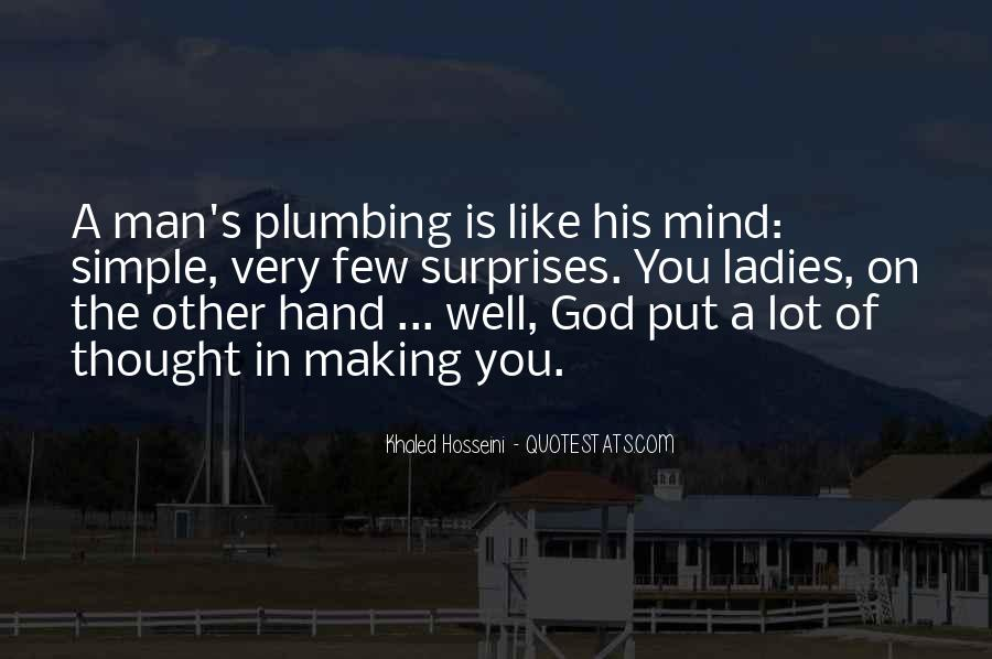 Quotes About Plumbing #1087590