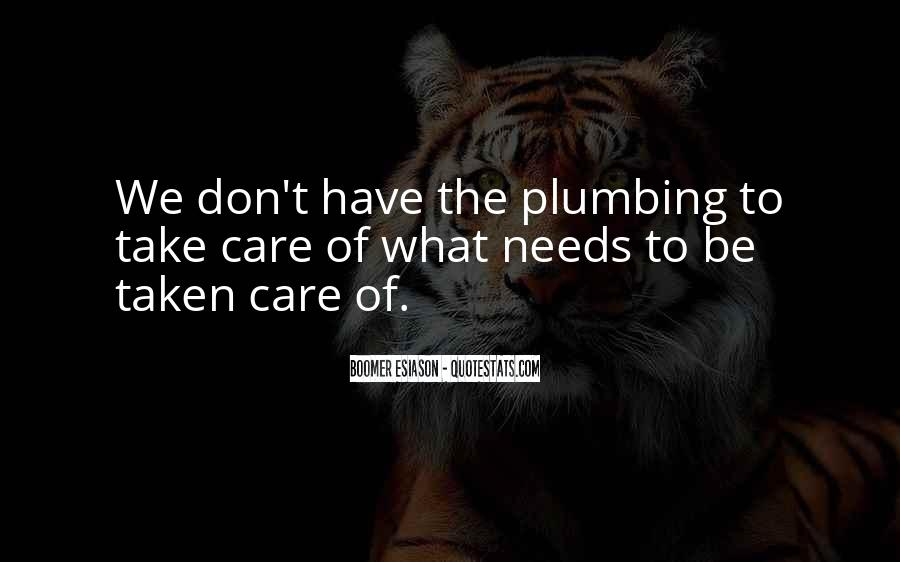 Quotes About Plumbing #1586236