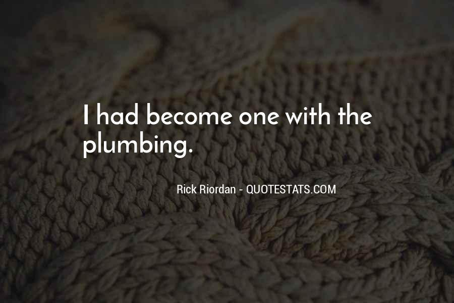 Quotes About Plumbing #941224