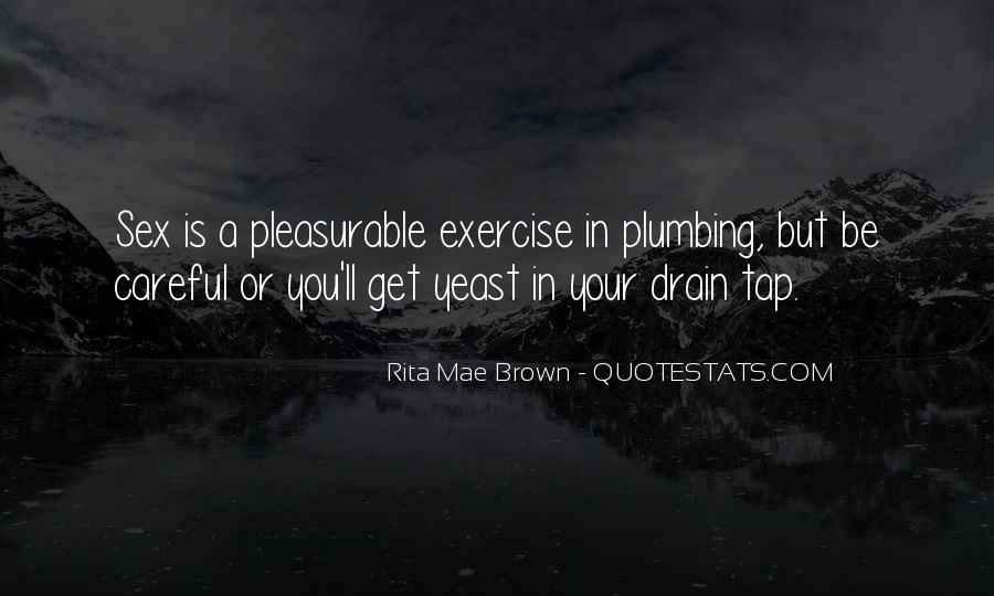 Quotes About Plumbing #997050