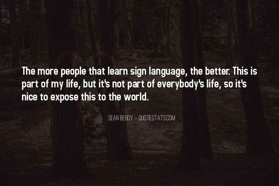 Quotes About Part Of My Life #155321