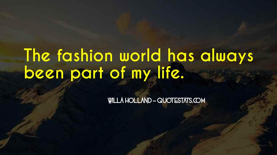Quotes About Part Of My Life #96332