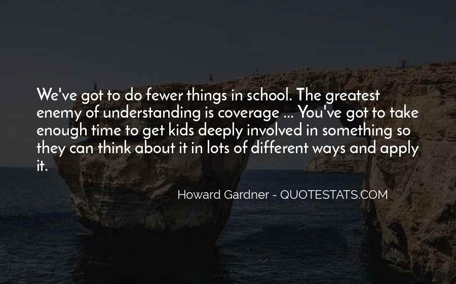 Quotes About Different Ways Of Learning #1361368