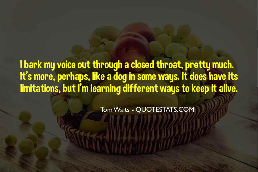 Quotes About Different Ways Of Learning #1692135