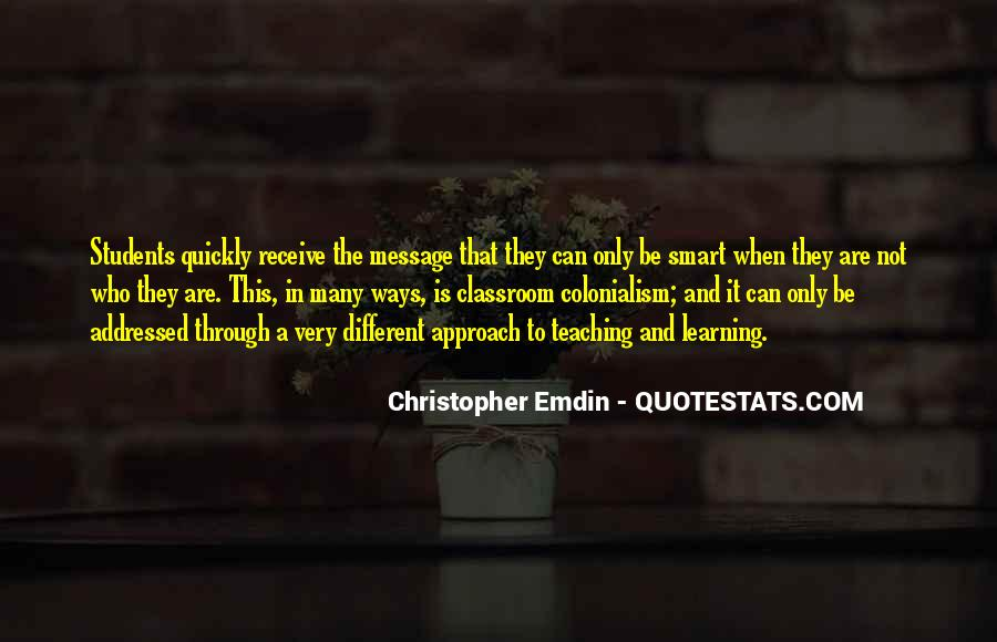 Quotes About Different Ways Of Learning #316579