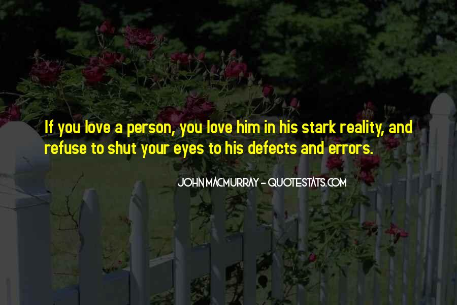 Quotes About Reality And Love #123813