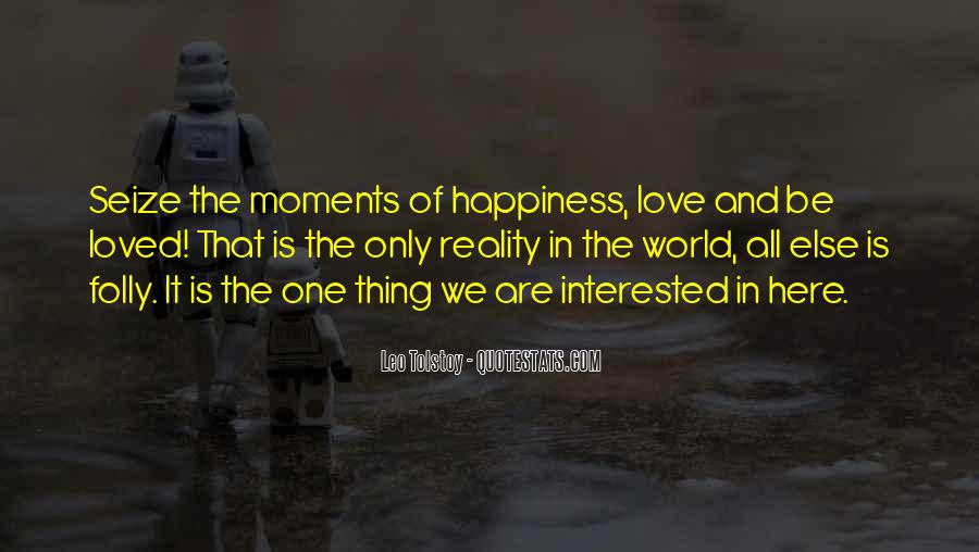 Quotes About Reality And Love #296641