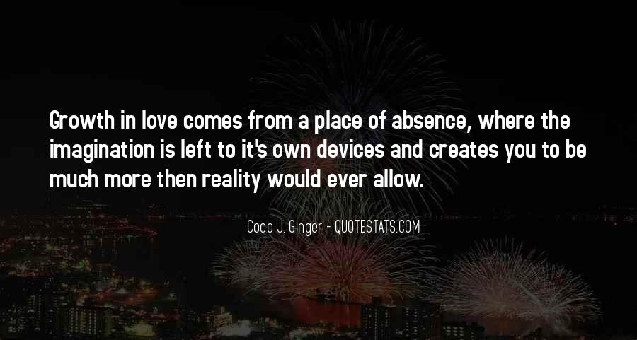 Quotes About Reality And Love #30382