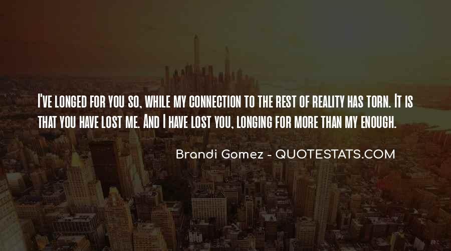 Quotes About Reality And Love #335596