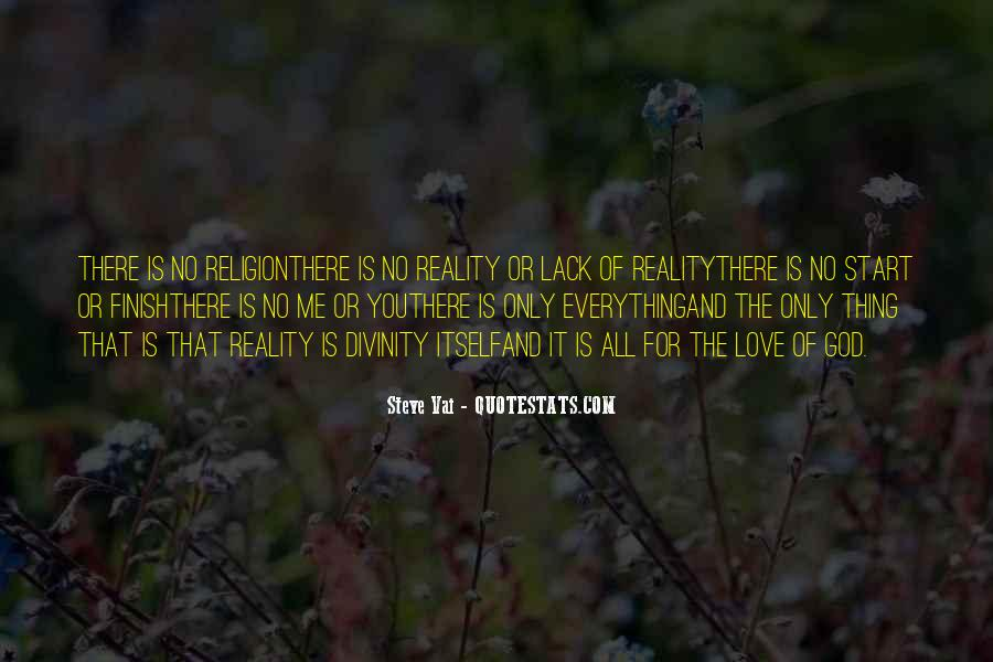 Quotes About Reality And Love #410911