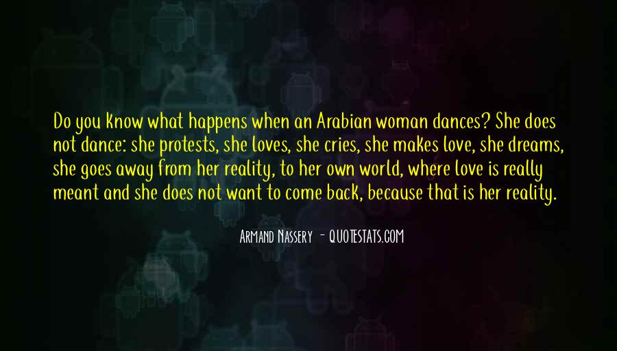 Quotes About Reality And Love #45463