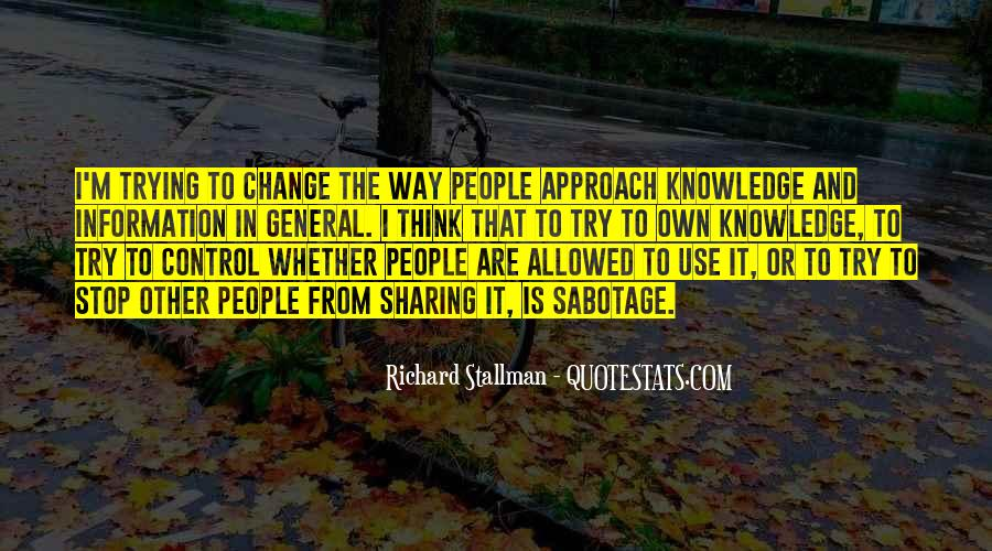 Quotes About Sharing Knowledge #1027269