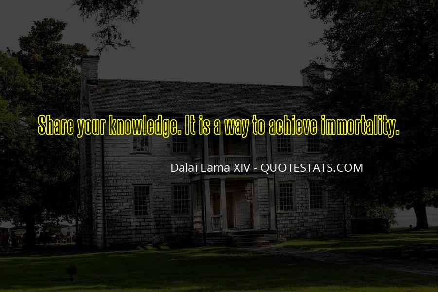 Quotes About Sharing Knowledge #1112259