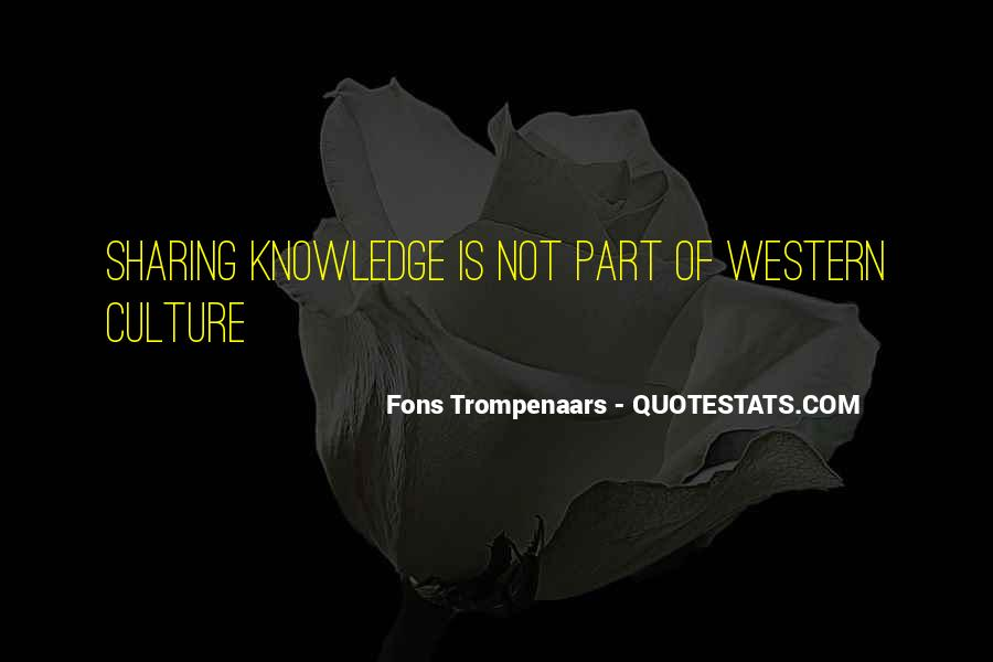 Quotes About Sharing Knowledge #1544753