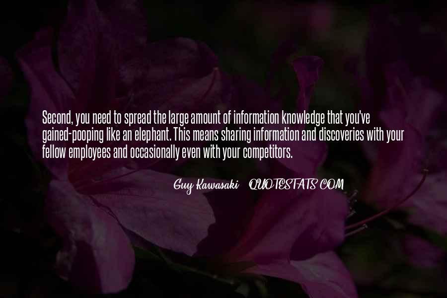 Quotes About Sharing Knowledge #1634994