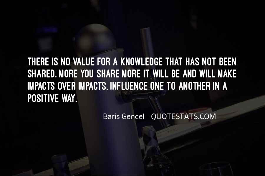Quotes About Sharing Knowledge #169258