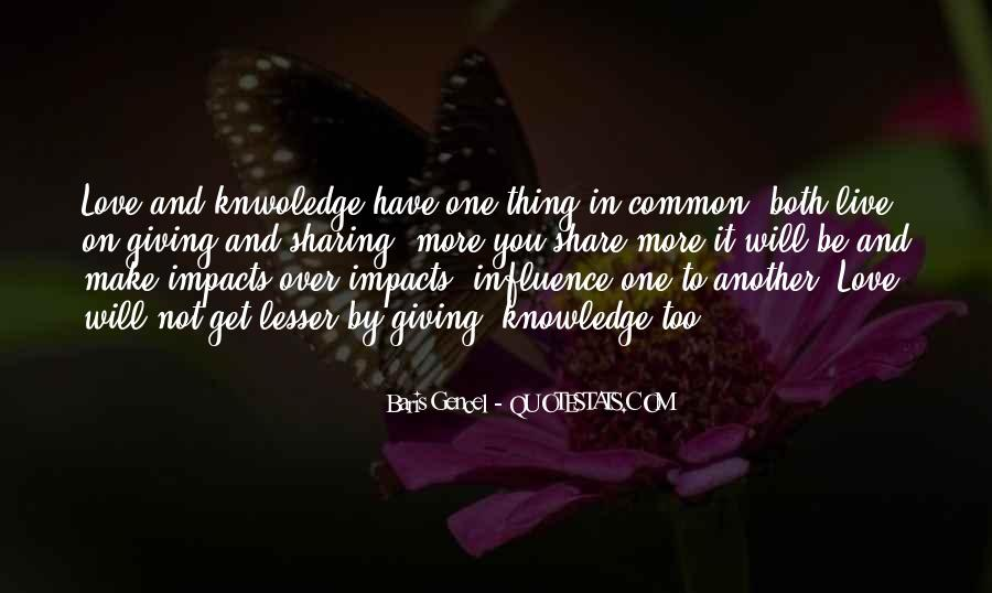 Quotes About Sharing Knowledge #1816856