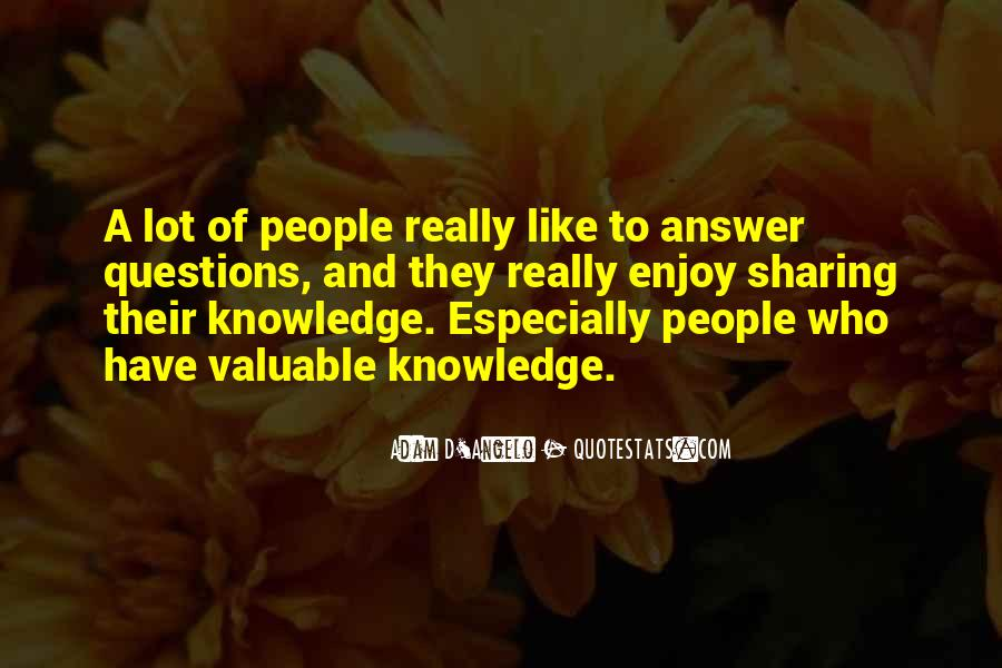 Quotes About Sharing Knowledge #519615