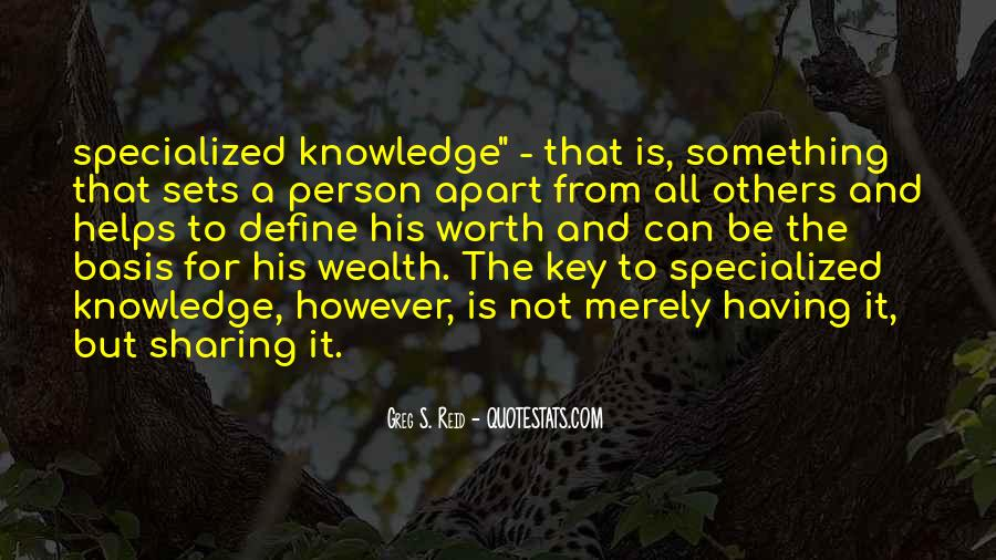 Quotes About Sharing Knowledge #551301