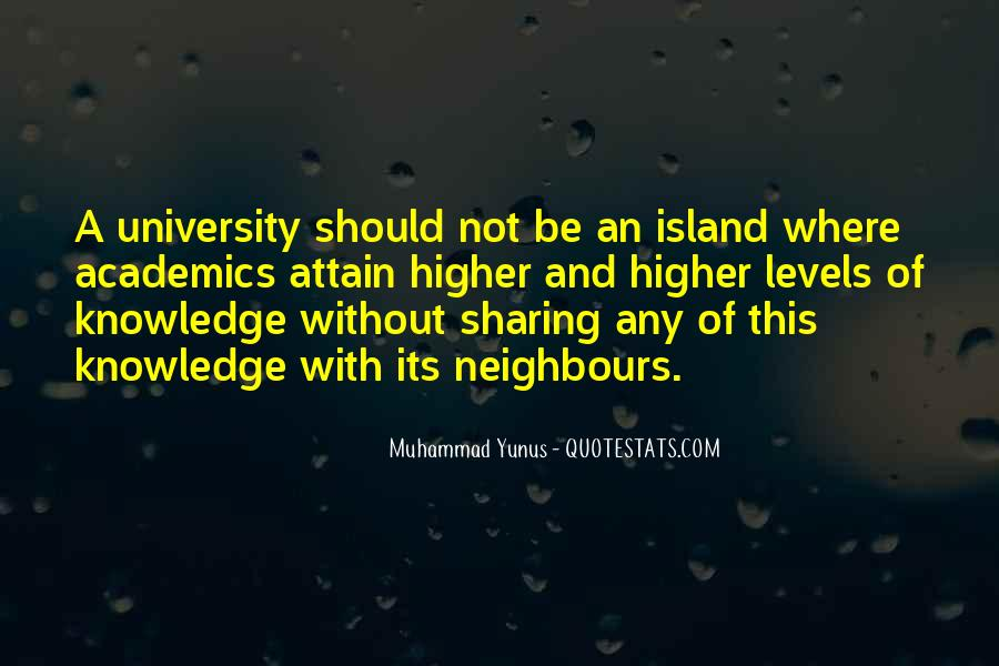 Quotes About Sharing Knowledge #607013