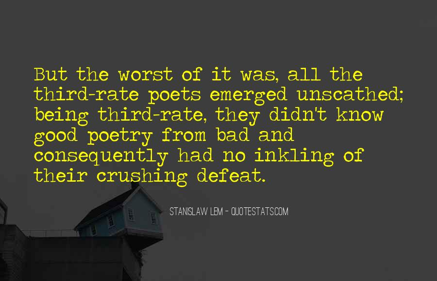 Quotes About Poets And Poetry #343970