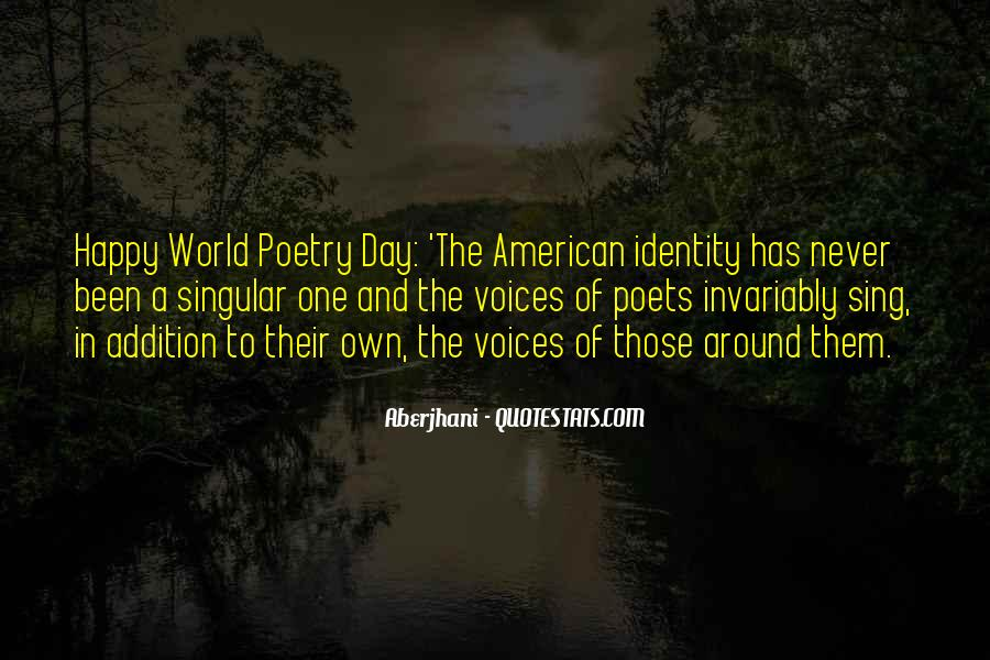 Quotes About Poets And Poetry #438906