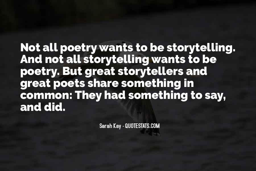 Quotes About Poets And Poetry #460537