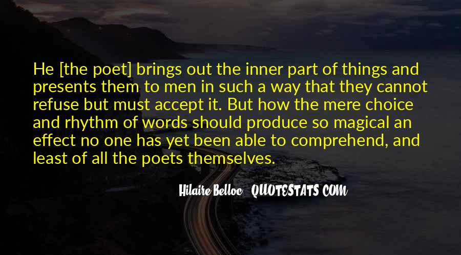 Quotes About Poets And Poetry #60450