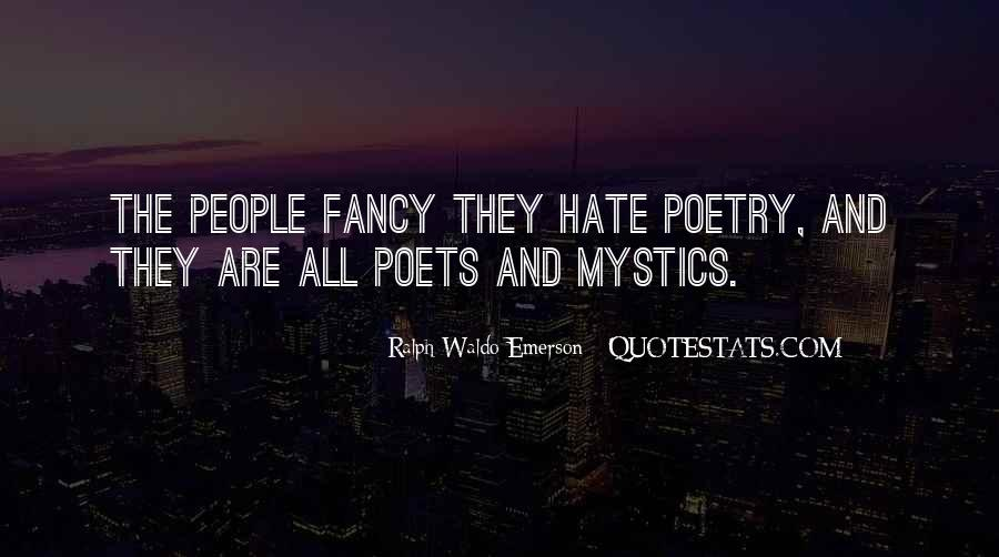 Quotes About Poets And Poetry #606291