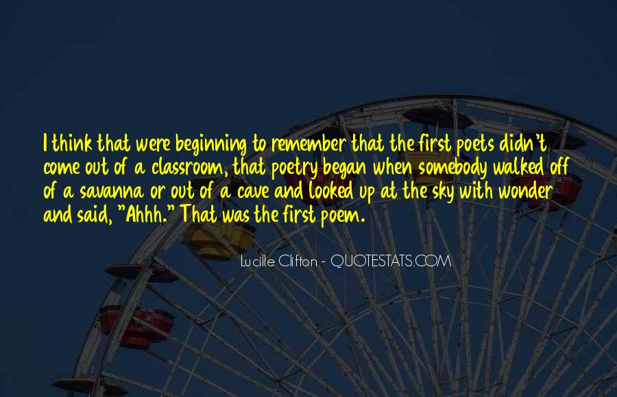 Quotes About Poets And Poetry #653846