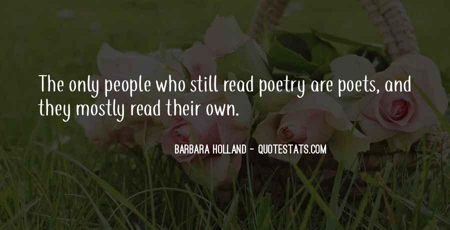 Quotes About Poets And Poetry #662013