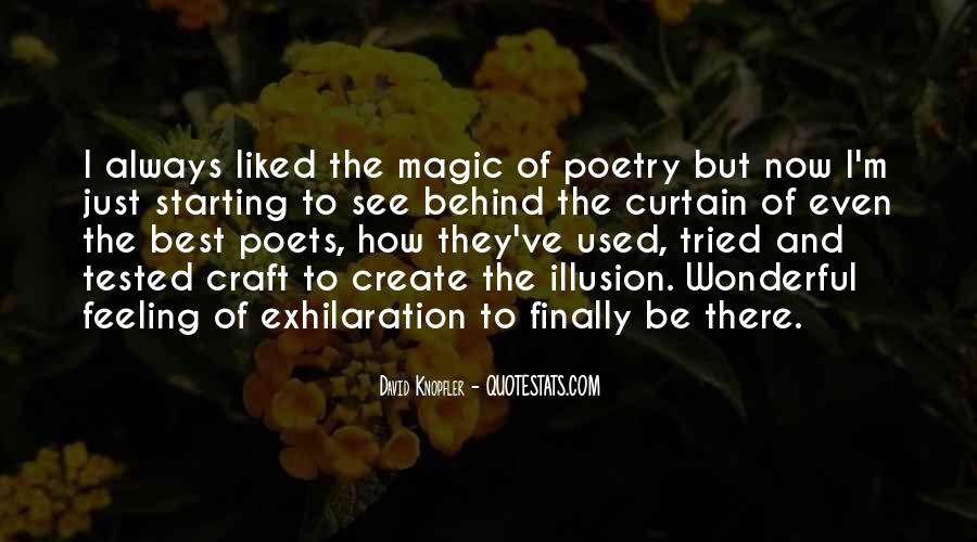 Quotes About Poets And Poetry #9863