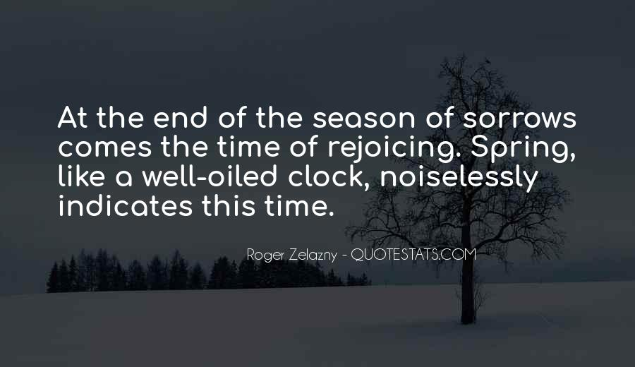 Quotes About The End Of The Season #1152046