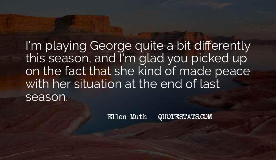 Quotes About The End Of The Season #1313396