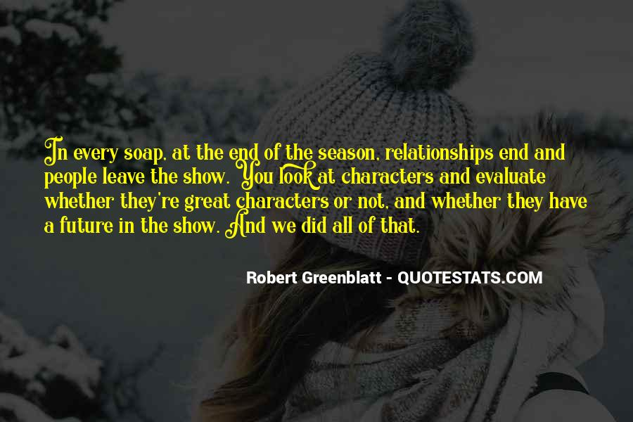 Quotes About The End Of The Season #1597725