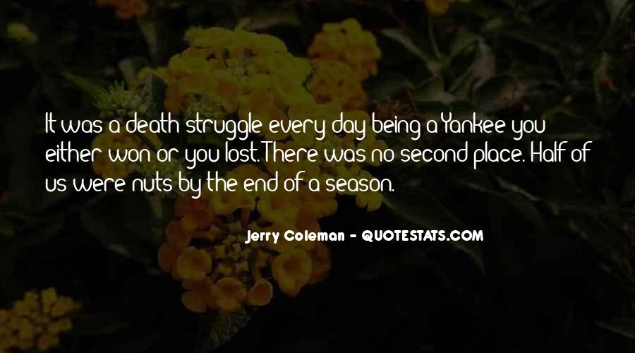 Quotes About The End Of The Season #1626948
