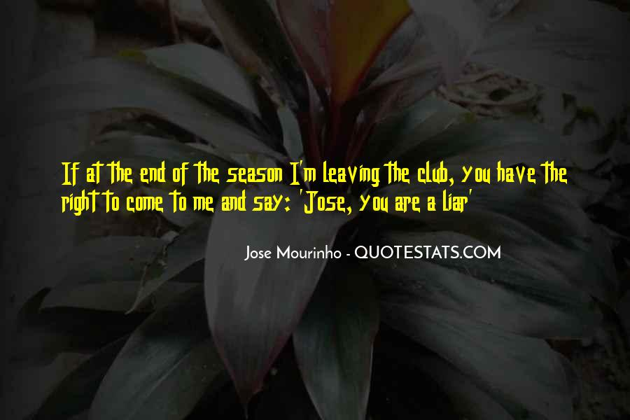 Quotes About The End Of The Season #1846675