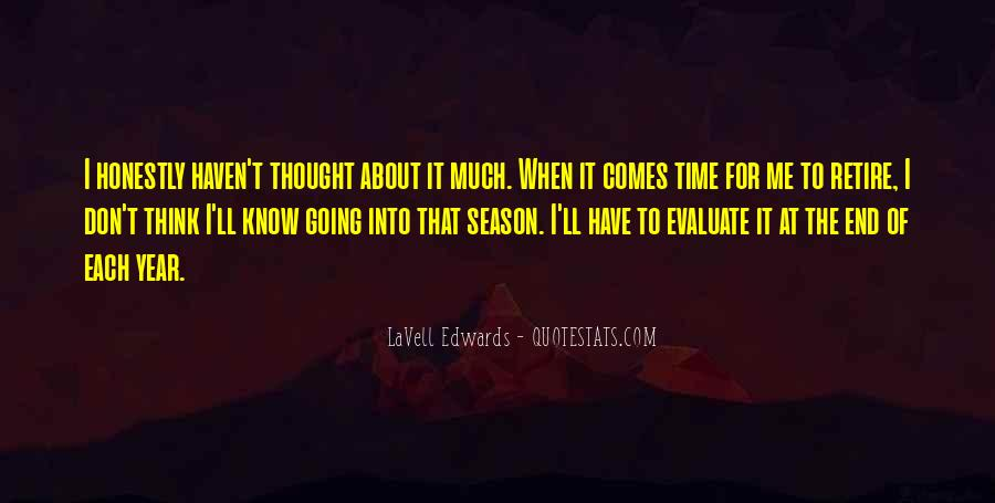Quotes About The End Of The Season #1858845