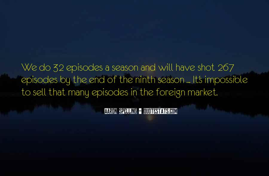 Quotes About The End Of The Season #328491