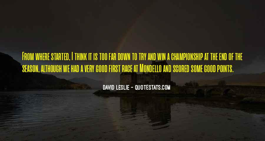 Quotes About The End Of The Season #386605
