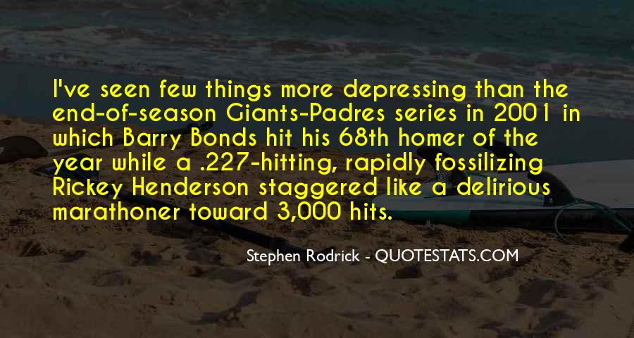 Quotes About The End Of The Season #44931