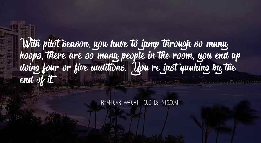 Quotes About The End Of The Season #846944