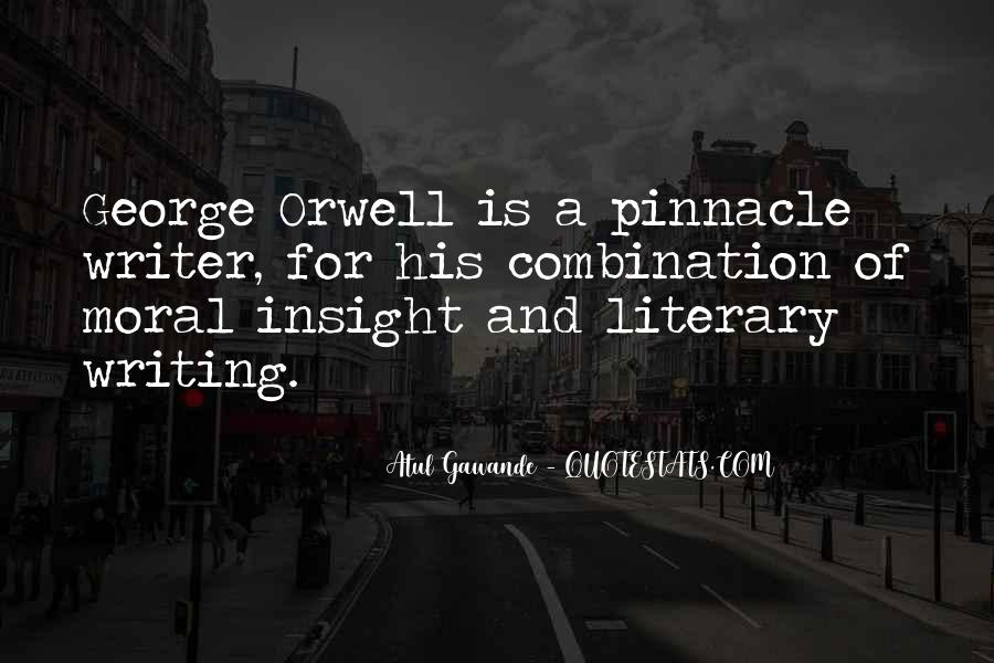 Quotes About George Orwell's Writing #1048264