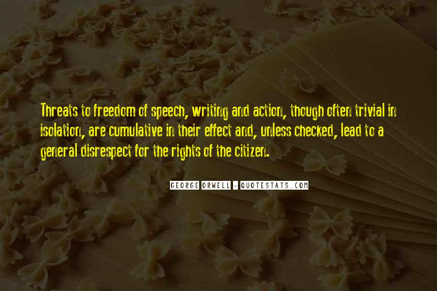 Quotes About George Orwell's Writing #105177