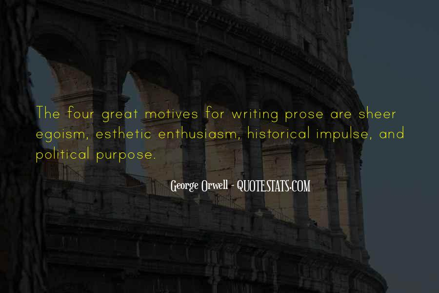 Quotes About George Orwell's Writing #1067019
